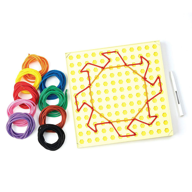 String-Along Lacing Kit and Pattern Cards - EI-3645
