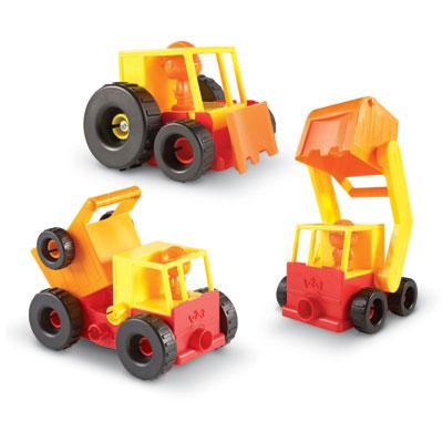 1-2-3 Build It! Construction Crew - LER2868