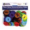 Giant Soft Foam Magnetic Place Value Demonstration Disks - Set of 80 - LSP5220-UK