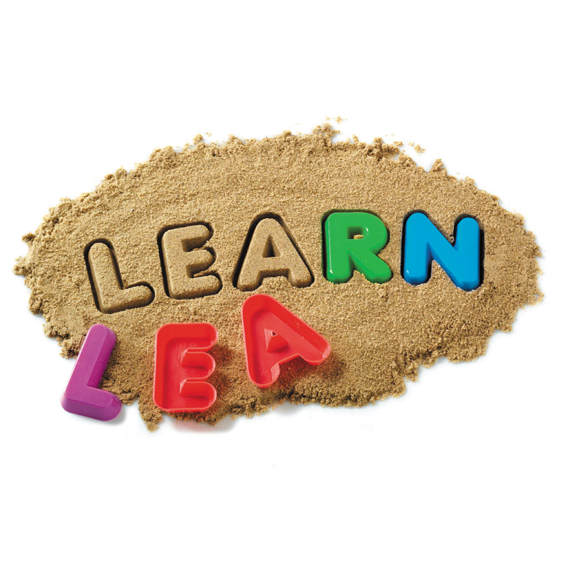 Alphabet Sand Moulds - Uppercase Alphabet - by Learning Resources - LSP1450-UKM