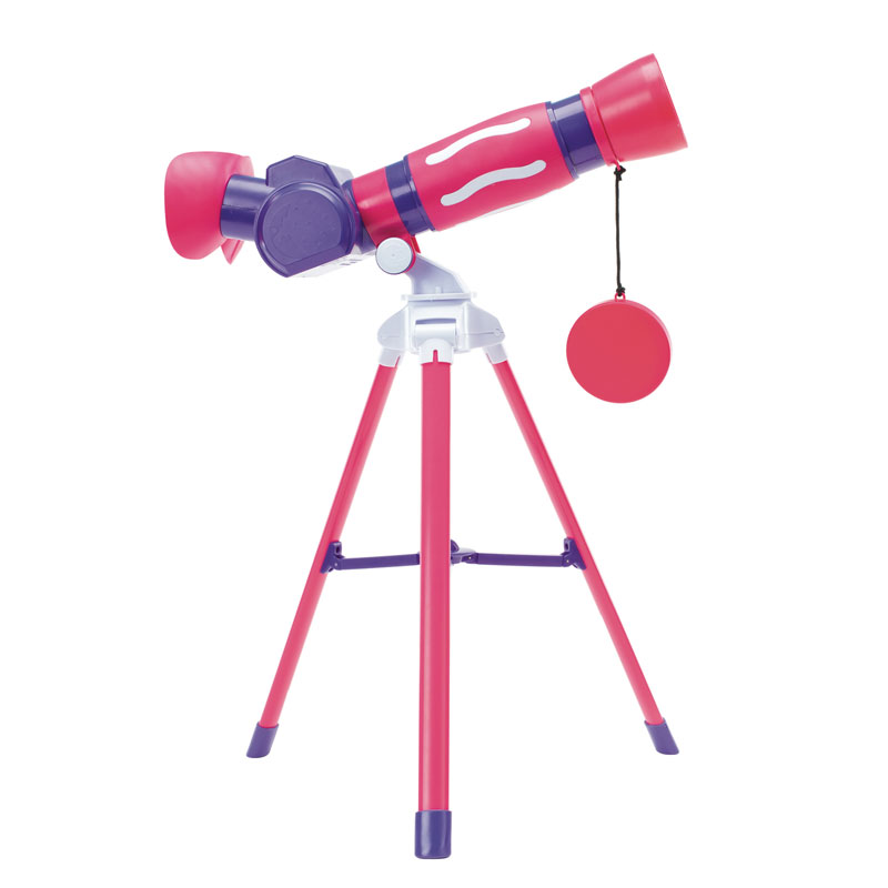 GeoSafari Jr. My First Telescope in Pink - EI-5129P