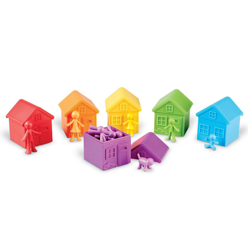 All About Me Sorting Neighbourhood Set - by Learning Resources - LER3369