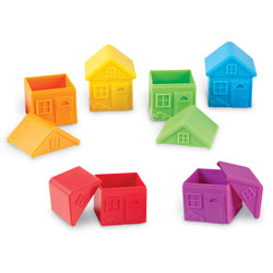 All About Me Sort & Match Houses - by Learning Resources