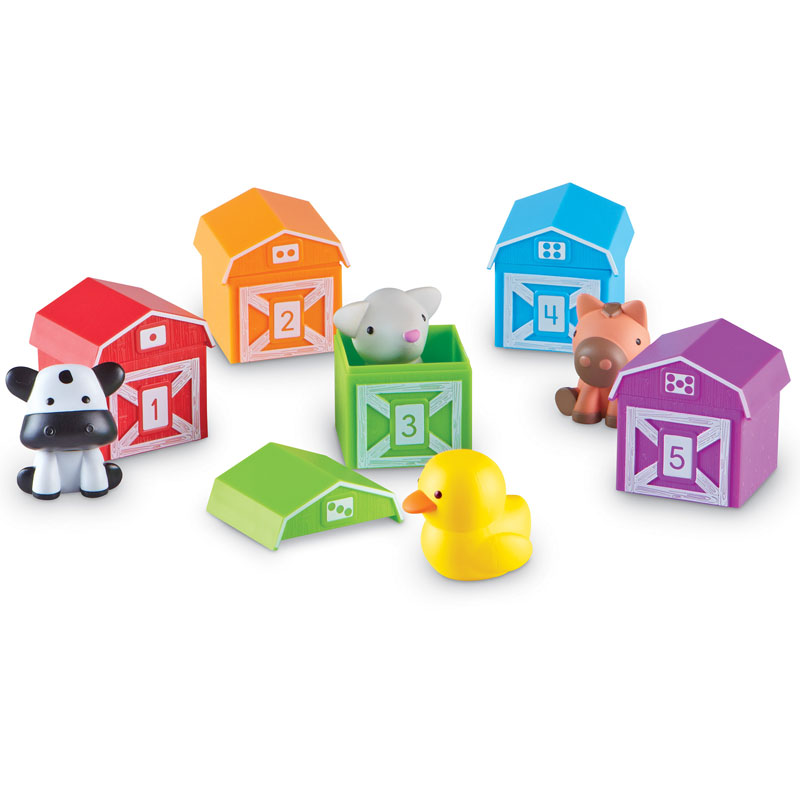 Peekaboo Learning Farm - by Learning Resources - LER6805