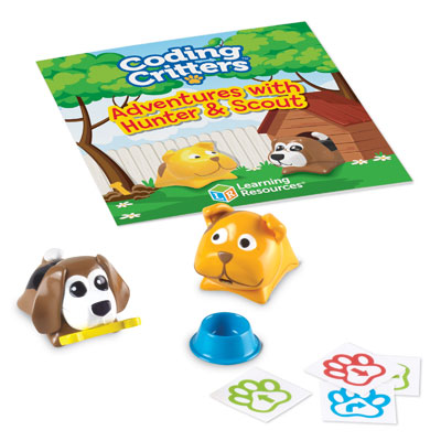 Coding Critters Add-On: Pair-A-Pets Adventures - with Hunter & Scout - LER3090