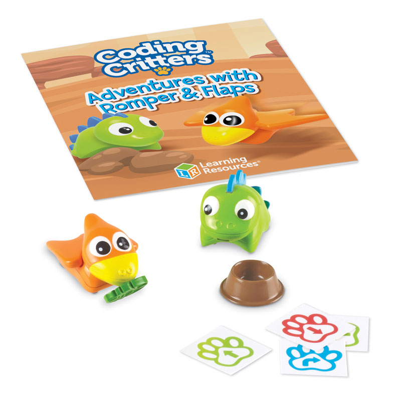 Coding Critters Add-On: Pair-A-Pets Adventures - with Romper & Flaps - LER3092