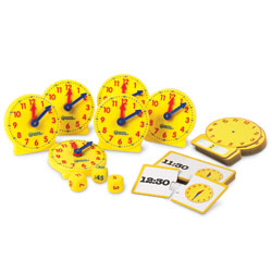 About Time! Small Group Activity Set - Set of 39 Pieces - by Learning Resources