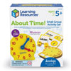 About Time! Small Group Activity Set - Set of 39 Pieces - by Learning Resources - LER3214