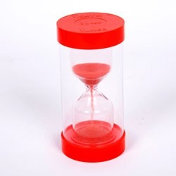 ColourBright Large Sand Timer - 30 Second - Red