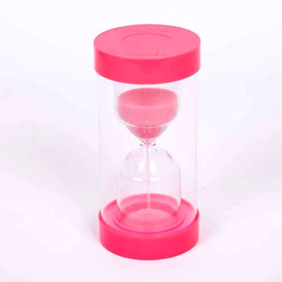 ColourBright Large Sand Timer - 2 Minute - Pink - CD92113