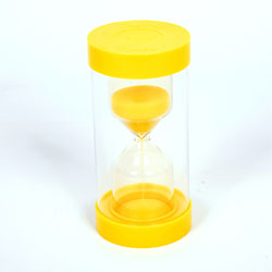 ColourBright Large Sand Timer - 3 Minute - Yellow