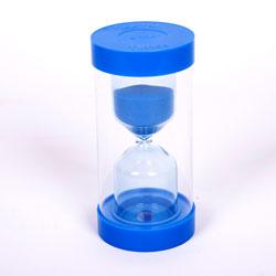 ColourBright Large Sand Timer - 5 Minute - Blue