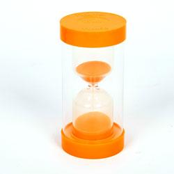 ColourBright Large Sand Timer - 10 Minute - Orange