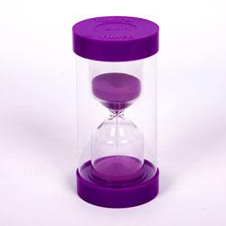ColourBright Large Sand Timer - 15 Minute - Purple