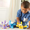 Fine Motor Peacock Pals - Set of 5 - by Learning Resources - LER9095