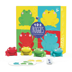 1-2-3 Froggies - by Educational Insights