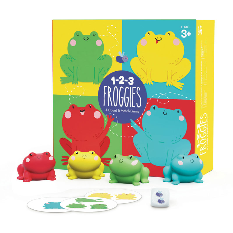 1-2-3 Froggies - by Educational Insights - EI-1709