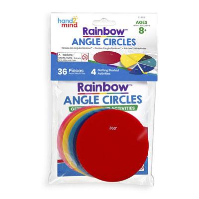 Rainbow Angle Circles - Individual Set - H2M91486