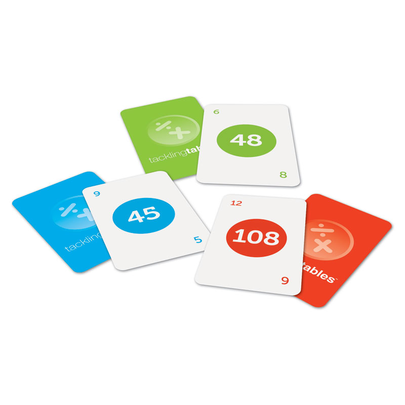 Tackling Tables Class Set - by Learning Resources - LSP1213-UK