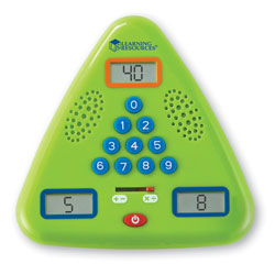 Minute Math Electronic Flash Card - by Learning Resources