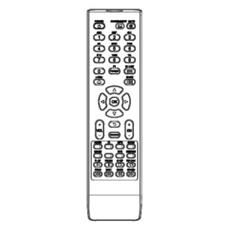 SMART Board MX Replacement Remote Control - for MX265/275/286 - 1031154