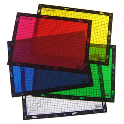 Children's Art and Craft Protective Mats - 50cm x 36cm - Set of 5