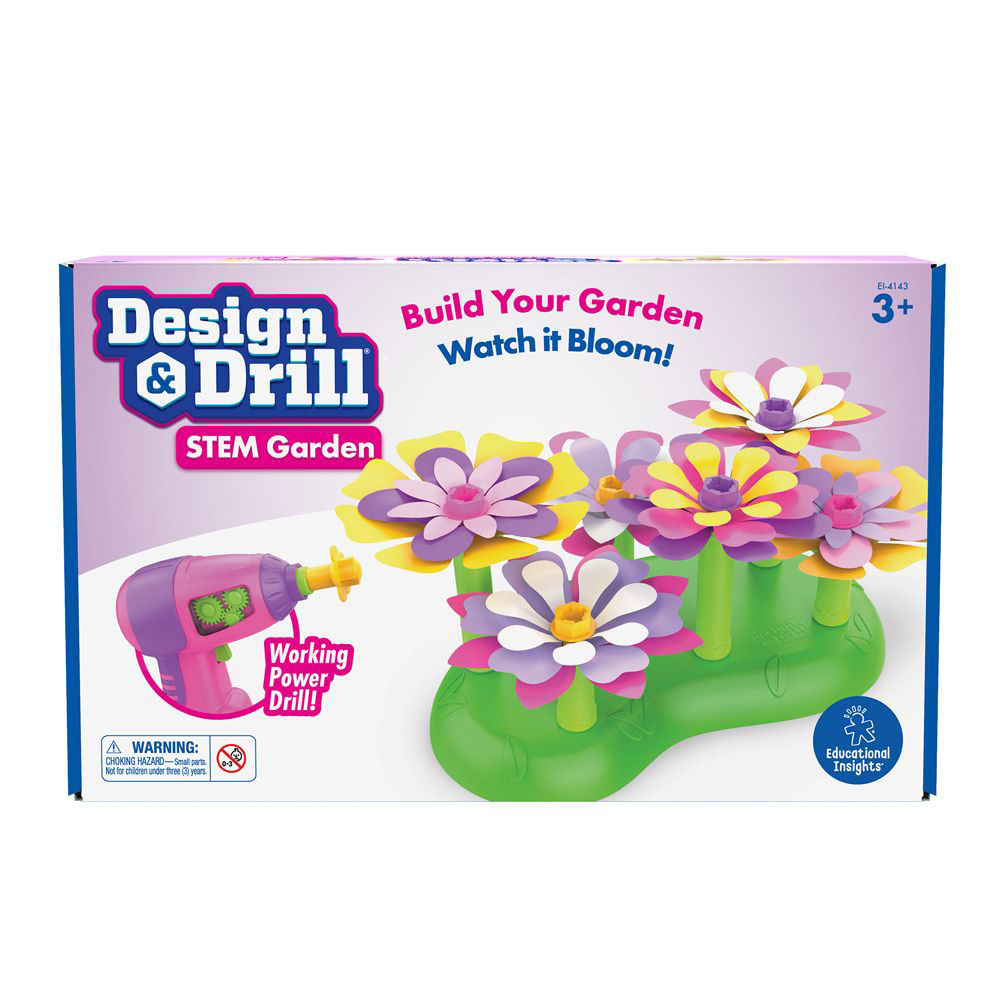 Design & Drill Stem Garden - by Educational Insights EI ...