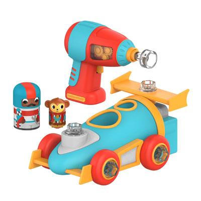 Design & Drill Bolt Buddies Race Car - by Educational Insights - EI-4186