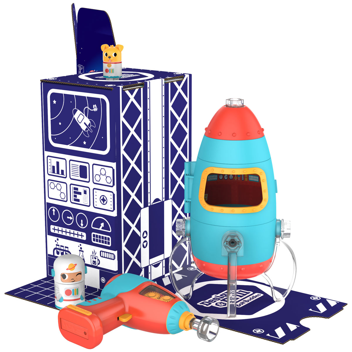 Design & Drill Bolt Buddies Rocket - by Educational ...