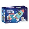Design & Drill Bolt Buddies Rocket - by Educational Insights - EI-4187