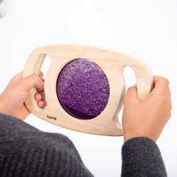 Easy Hold Glitter Panel - Purple