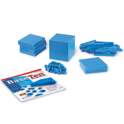*BOX DAMAGED* Grooved Plastic Base 10 Starter Set - by Learning Resources