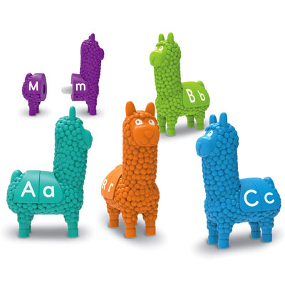 Snap-n-Learn Letter Llamas - by Learning Resources - LER6713
