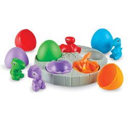 Babysaurs Sorting Set - Set of 16 Pieces - by Learning Resources