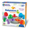 Babysaurs Sorting Set - Set of 16 Pieces - by Learning Resources - LER6807