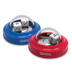 Dice Poppers! Set of 2 - by Learning Resources