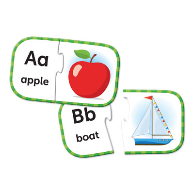 ABC Puzzle Cards - by Learning Resources - LER6085