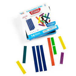 Cuisenaire Rods Demonstration Clings - Set of 74 Pieces