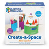 Create-a-Space Mini-Centre - by Learning Resources - LER3810