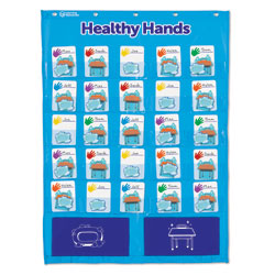 Healthy Hands Pocket Chart - by Learning Resources