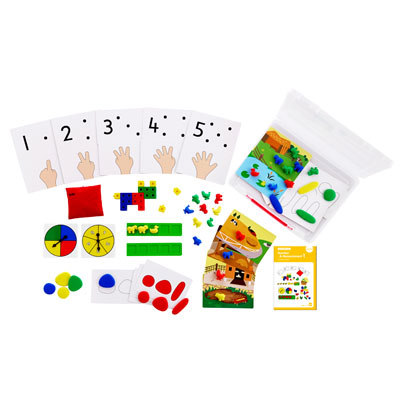 Early Maths 101 To Go - Number & Measurement - Level 1 - CD54133