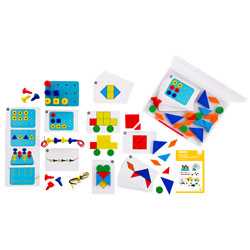 Early Maths 101 To Go - Geometry & Problem Solving - Level 1