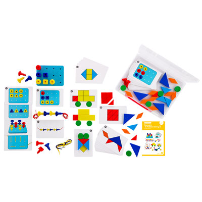 Early Maths 101 To Go - Geometry & Problem Solving - Level 1 - CD54139