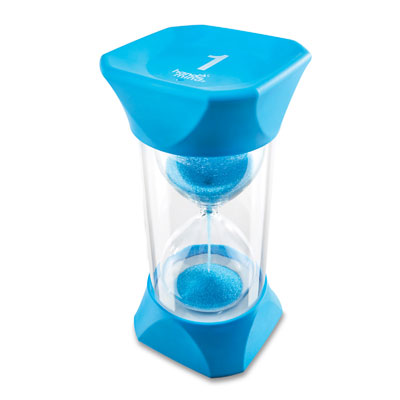 Jumbo Sand Timer - 1-Minute (Blue) - by Hand2Mind - H2M93066
