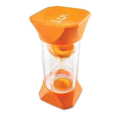 Jumbo Sand Timer - 5-Minute (Orange) - by Hand2Mind - H2M93068
