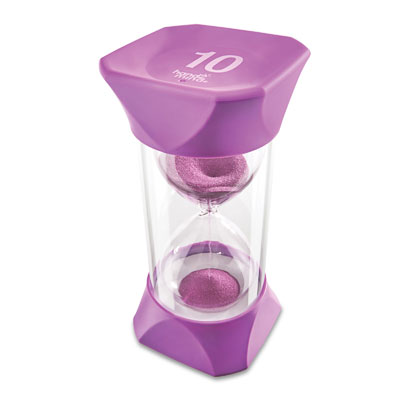 Jumbo Sand Timer - 10-Minute (Purple) - by Hand2Mind - H2M93069
