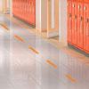 Social Distancing Floor Decals - Dashes - Set of 10