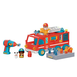 Design & Drill Bolt Buddies Fire Truck - by Educational Insights