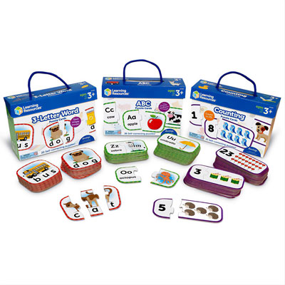 Puzzle Card Bundle - by Learning Resources - LER6090