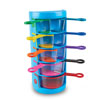 Rainbow Fraction Measuring Cups - Set of 9 - H2M93399-UK